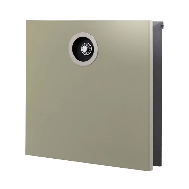 オンリーワン 郵便ポスト イル ヴァリオ ピアーノプレミオ NA1-IV16LA 壁掛タイプ ラテ色 ダイヤル錠付き