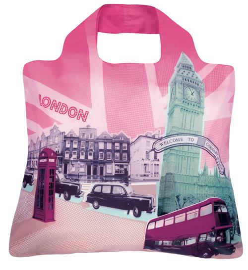 エンビロサックス エコバッグ トラベル ロンドン ENVIROSAX Travel London [TR-B4]