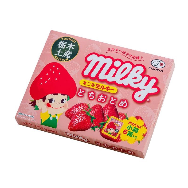 ミルキー milky とちおとめ 栃木限定 6箱入り