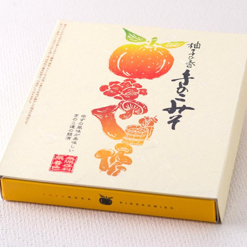 柚子の香 きのこみそ 200g