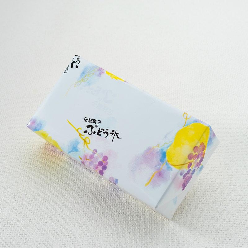 かぎや ぶどう氷 伝統菓子 2パック入箱