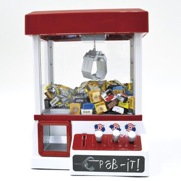 卓上UFOキャッチャー本体+チロルチョコ108ヶ+おまけお菓子30ヶ