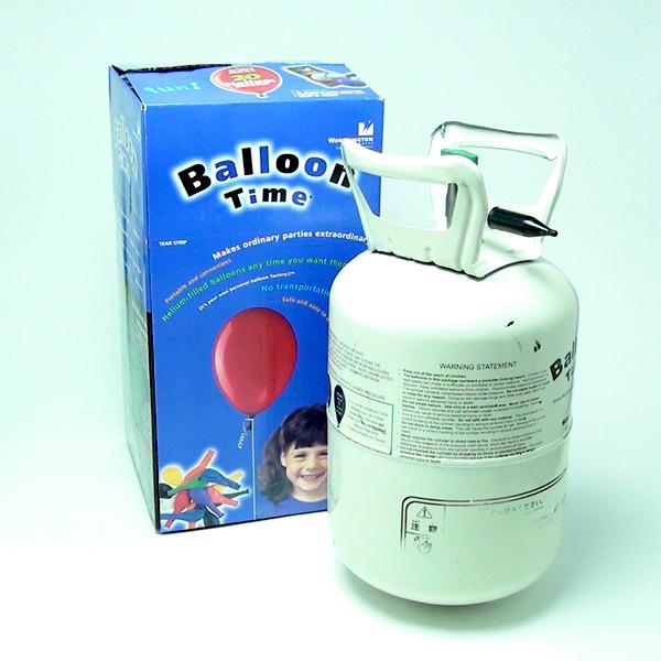 ヘリウムガス使い捨て缶 120L