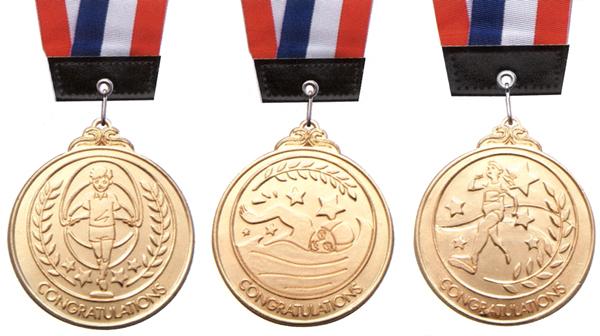 表彰メダル 子供用 種目別 まとめ買い10ヶセット