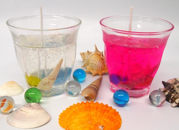 工作イベントキット 手作りグラスキャンドル 24人用