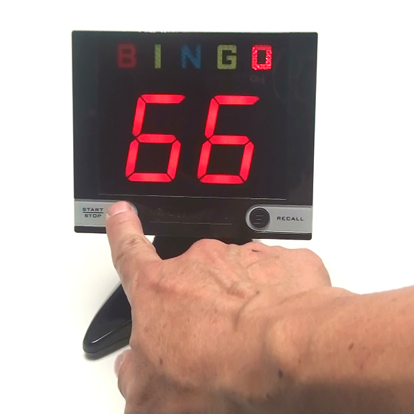 ビンゴ デジタル表示タイプ 17cm
