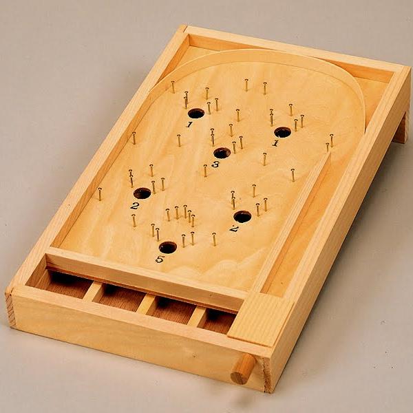 木工工作おもちゃ パチンコゲーム