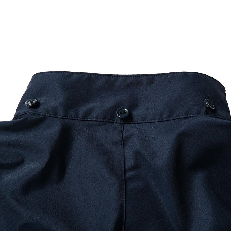 紫外線対策 ブレッサブルUVパーカー ネイビー 男女兼用 (日本学校保健会推薦製品)