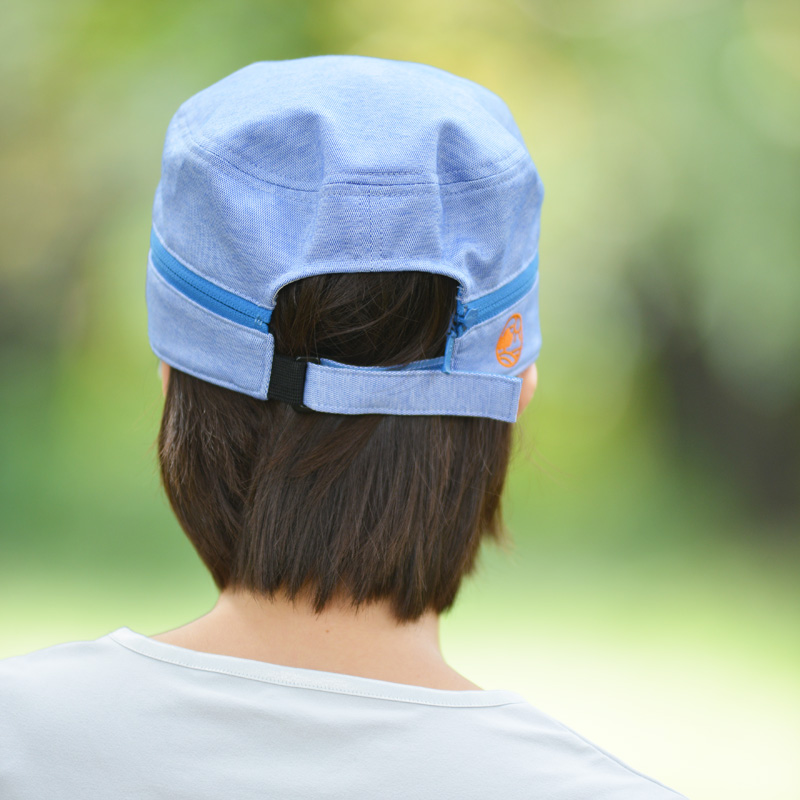 紫外線対策 UVカット帽子 キャプバイザー エポカル