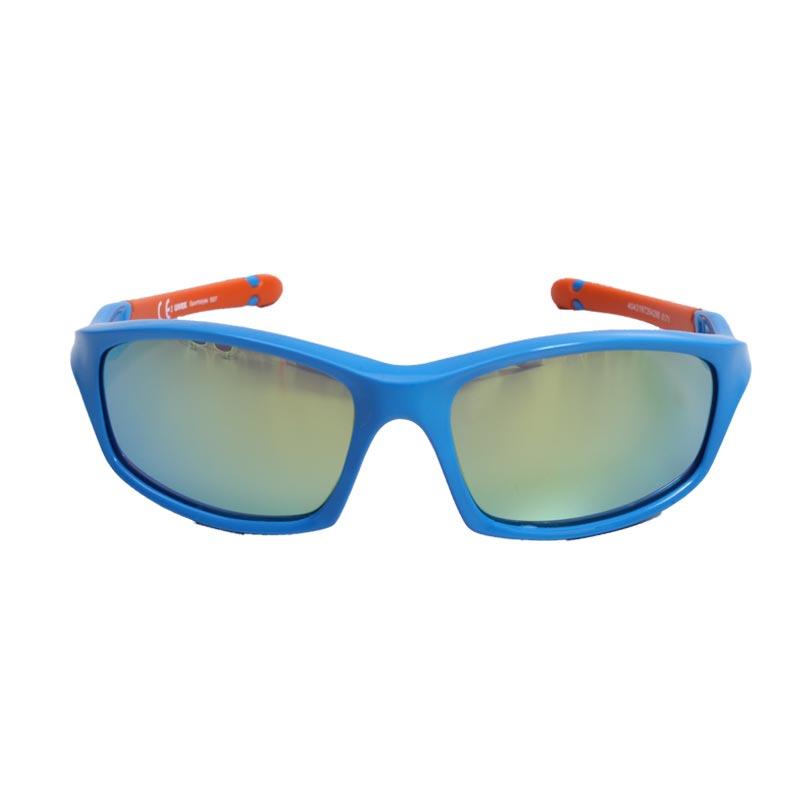 スポーツスタイル507 ブルーオレンジ(小学生用) 紫外線対策