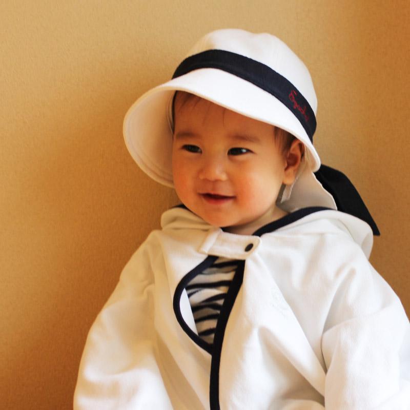 赤ちゃんのためのサンケアハット パーフェクトシリーズ 紫外線対策