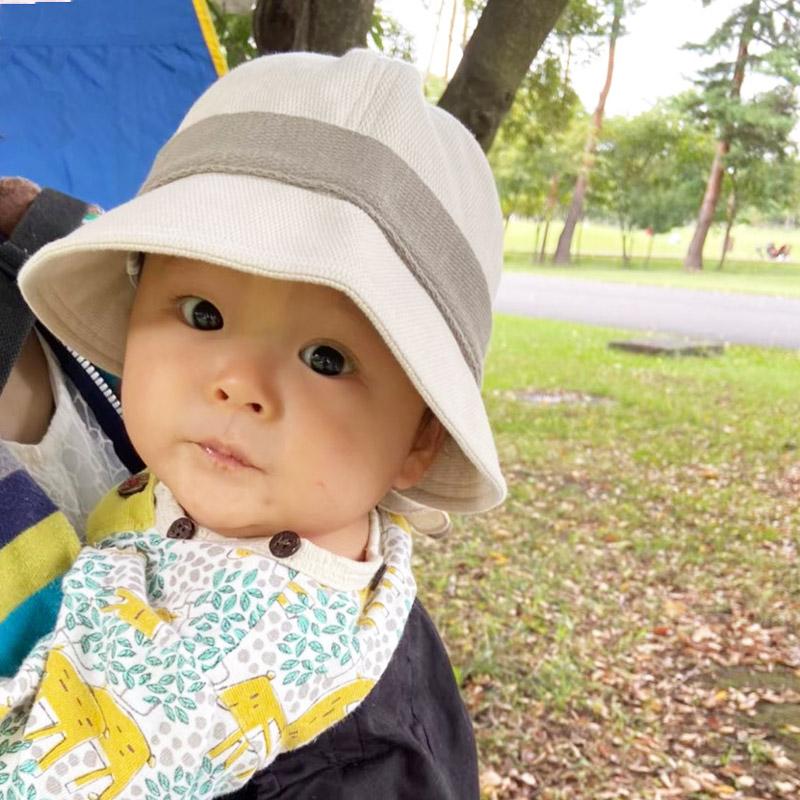 赤ちゃんのためのサンケアハット デイリーシリーズ 紫外線対策