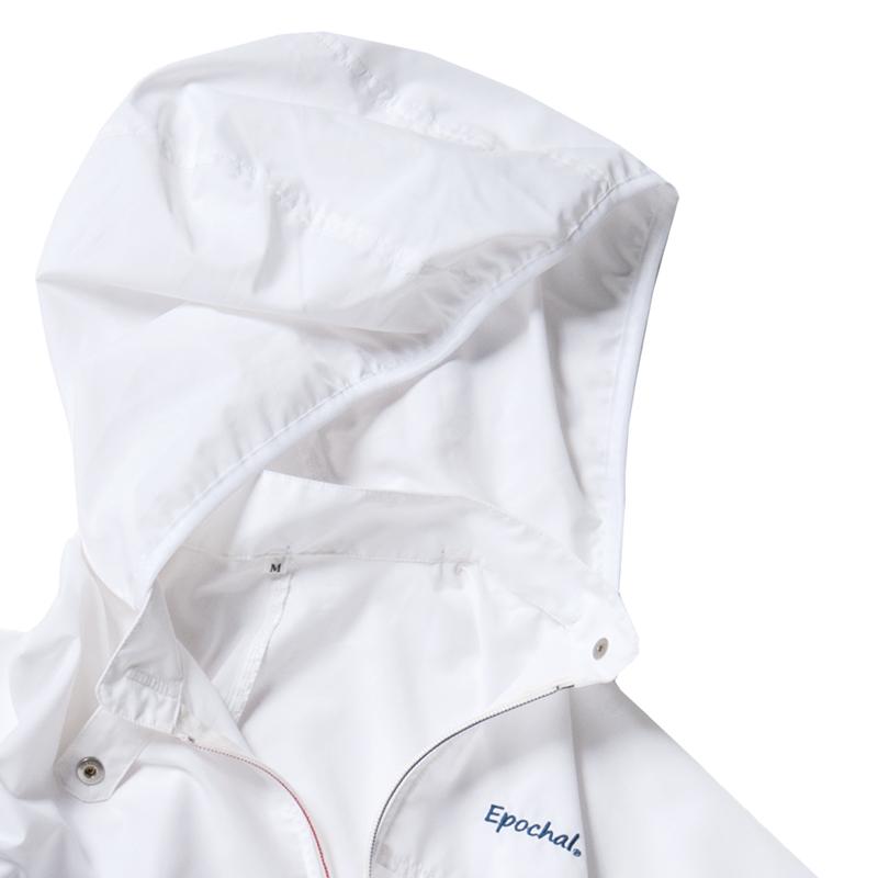 紫外線対策 ブレッサブルUVパーカー ホワイト 男女兼用
