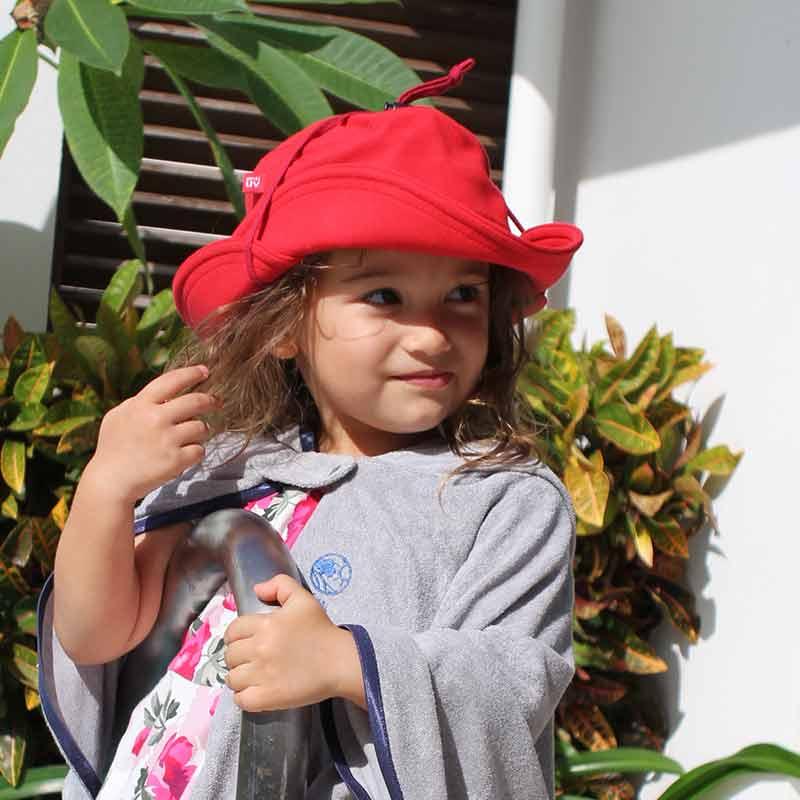 3WAYUVカット帽子 ネイビー 【日本学校保健会推薦用品】 紫外線対策