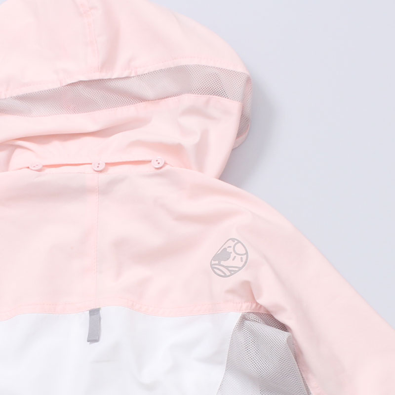 サンブロックUVメッシュパーカー ピンク 大人 紫外線対策