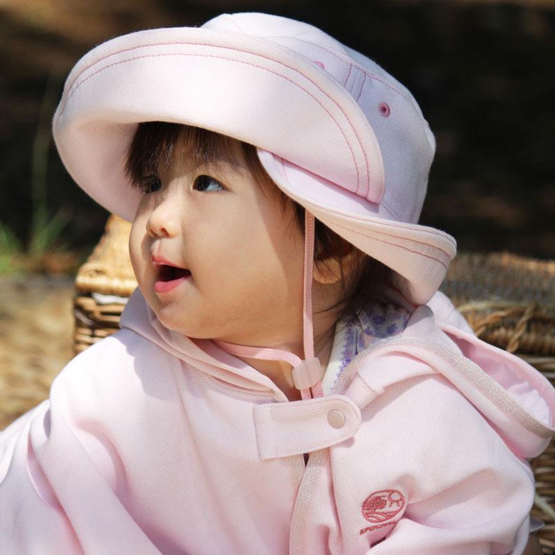 3WAYUVカット帽子 ピンク 日本学校保健会推薦用品】 紫外線対策