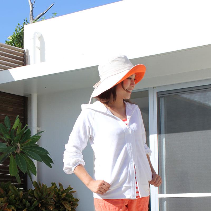 紫外線対策 UVカットパーフェクトパーカー レディース UV遮蔽率99%以上 世界最高水準!