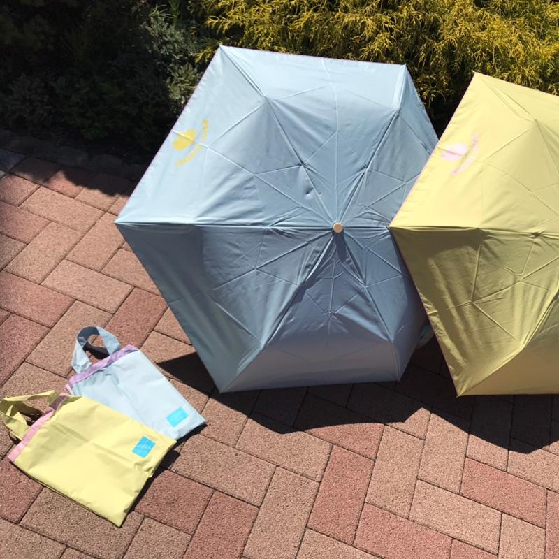 晴雨兼用折畳傘 kukka hippo(クッカヒッポ)  ミントグリーン
