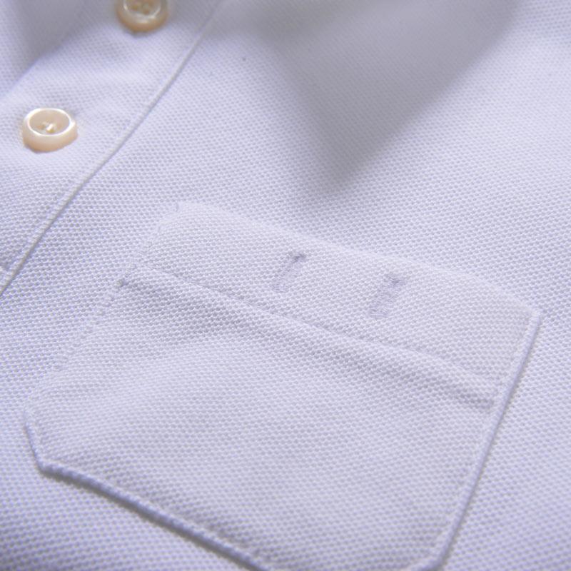 スクールポロシャツ 5分袖 【日本学校保健会推薦製品】 紫外線対策