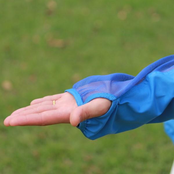 紫外線対策 ブレッサブルUVパーカー ブルー 大人用 エポカル