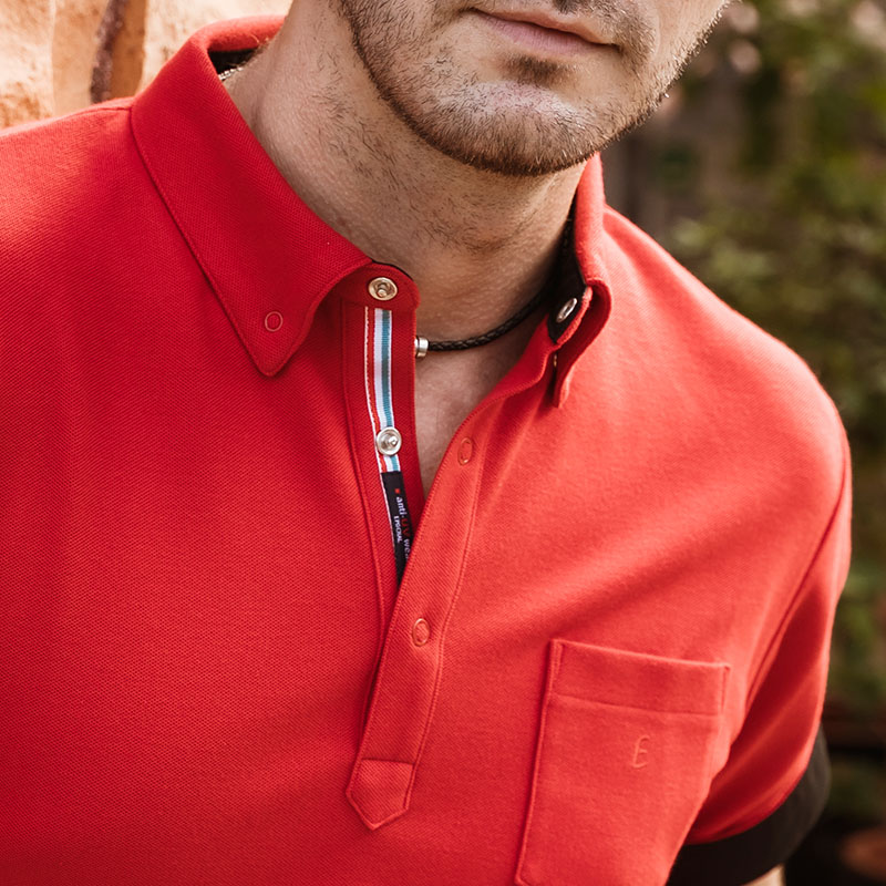 クラッシックフィットポロシャツ メンズ 紫外線対策