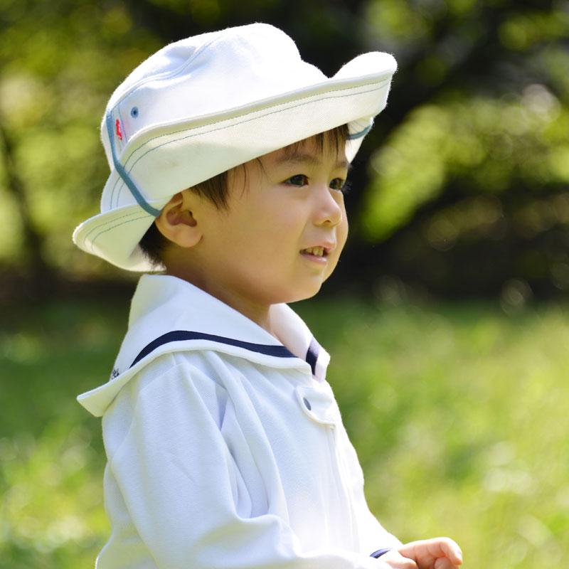 和光市キャラクター 【限定!】3WAYUVカット帽子 わこうっち刺繍 紫外線対策