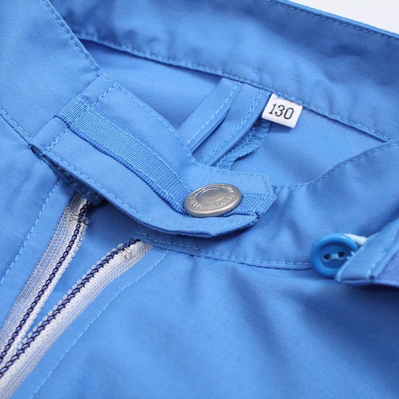 ブレッサブルUVパーカー ブルー 子供用 紫外線対策