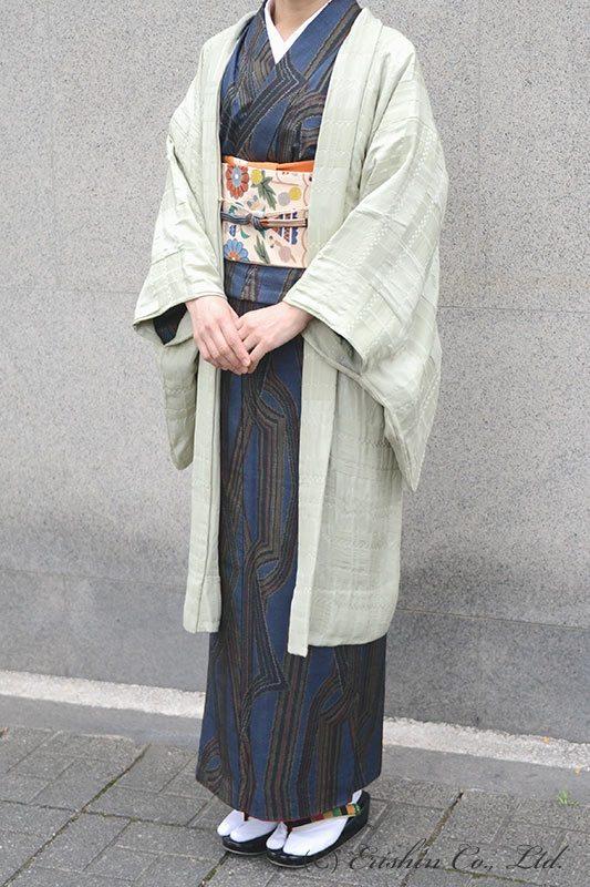 【お誂え】オリジナル羽織もの「市松on市松」単衣の通年使用(染め・仕立て含む)