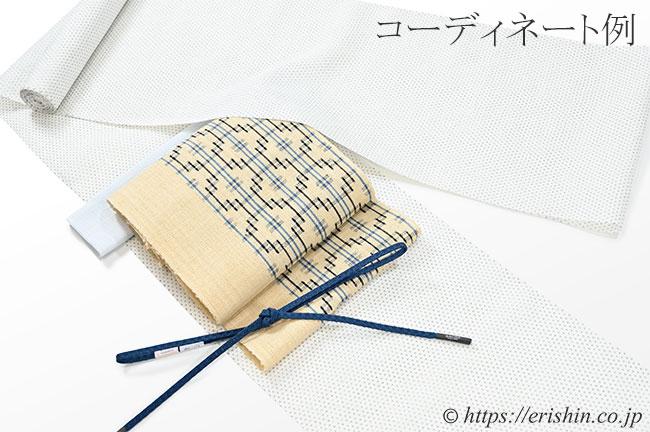 小千谷縮(小絣/白地)