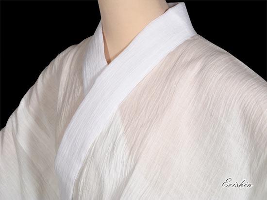 本麻長襦袢 [麻絽半衿付き] (女性用)