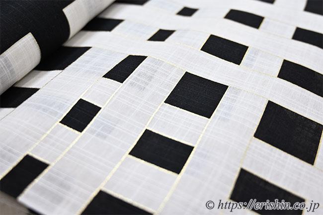 誉田屋源兵衛 浴衣(綿麻・喜左衛門)広巾