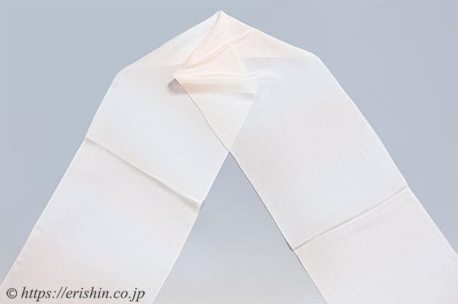 帯揚げ(段暈かし/薄乙女色・楊柳)[単衣向]