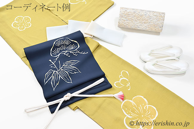 真綿入り草履(帆布パールホワイト&西陣織花緒/二ノ三巻台)Mサイズ