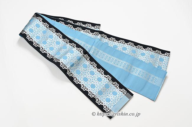 博多小袋帯(華文空色&献上)リバーシブル