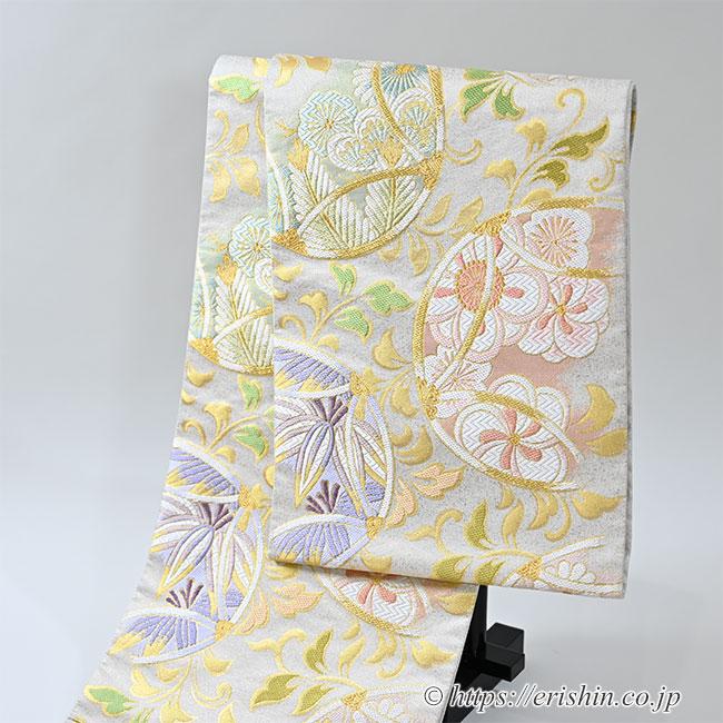 袋帯(七宝吉祥優彩文)