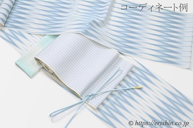八寸織名古屋帯(浮遊/紗)[オールシーズン]