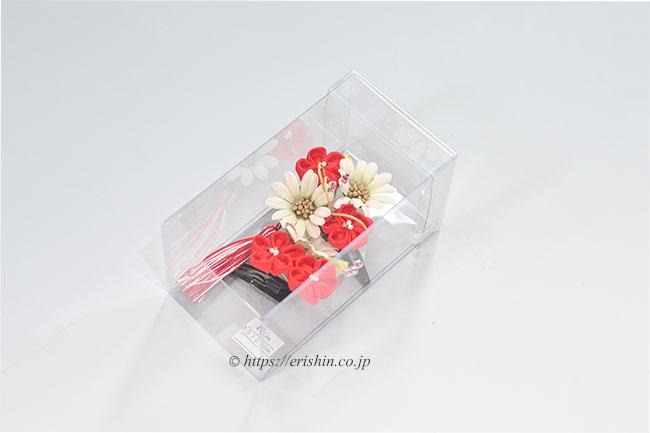 つまみかんざし(パッチン止めセット 菊と梅)