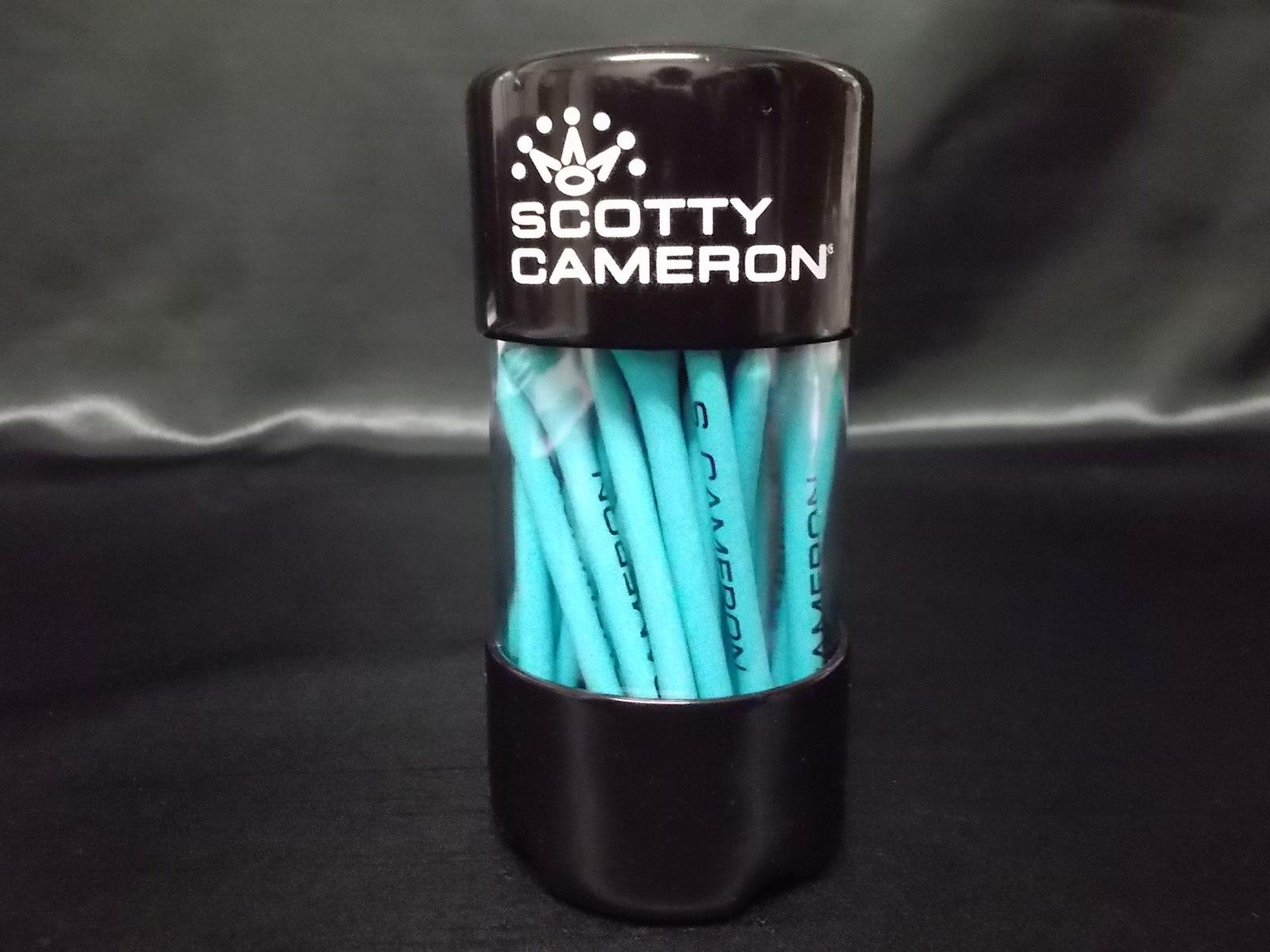 Scotty Cameron Tiffany Blue CircleT Golf Tees Pack Large スコッティキャメロン ウッドティーセット ラージ サークルT ティファニーブルー ロングティー