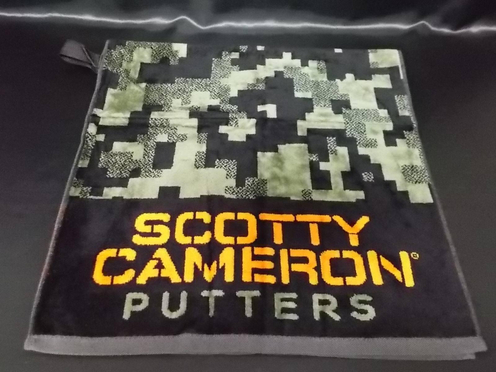 ScottyCameron Towel Camouflage Green Camo スコッティキャメロン カモフラージュタオル グリーン
