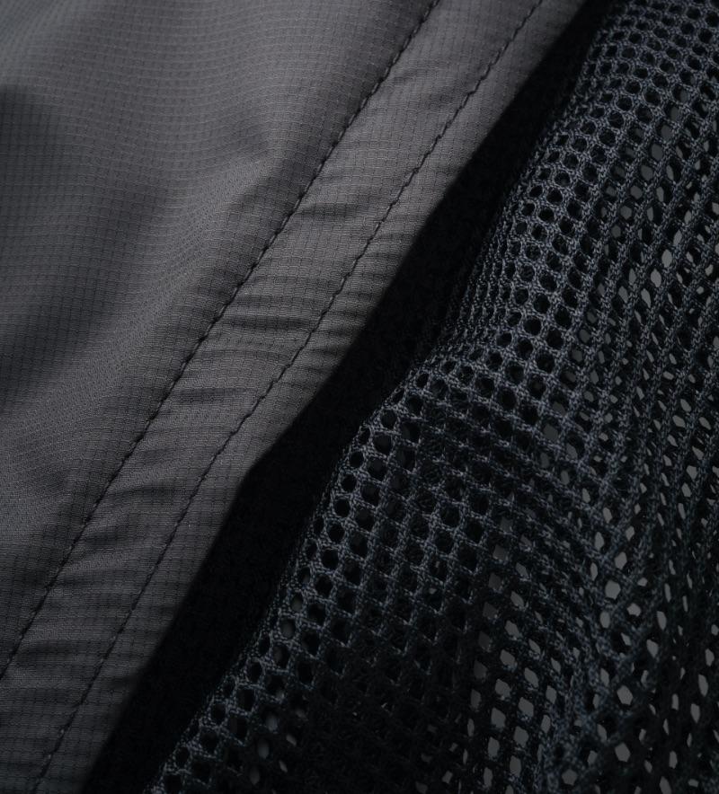 【夏限定】メッシュドッグスリング アベルト ブラック2(ファスナーあり)