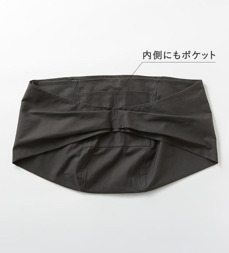 シンプル ドッグスリング ダークグレー
