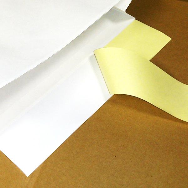 ≪クレジット決済商品≫【2ケースで送料無料】宅配袋 白 大 Lサイズ 100袋 BAG-L 【1袋当り 23.9円 (税込 26.2円)】
