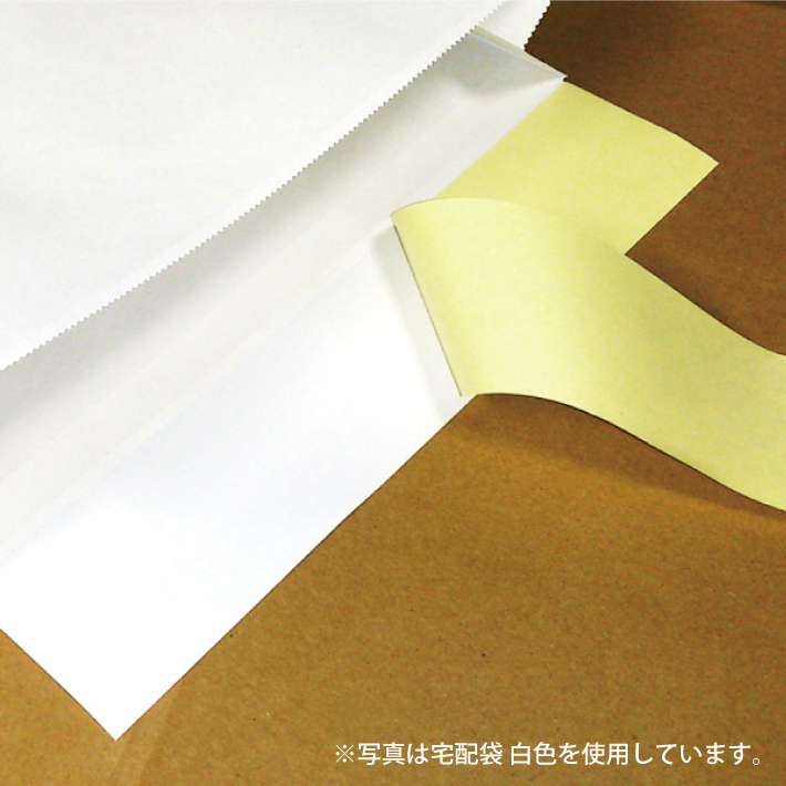 宅配袋 中 Mサイズ 100枚 茶色 クラフト (2個で送料無料)
