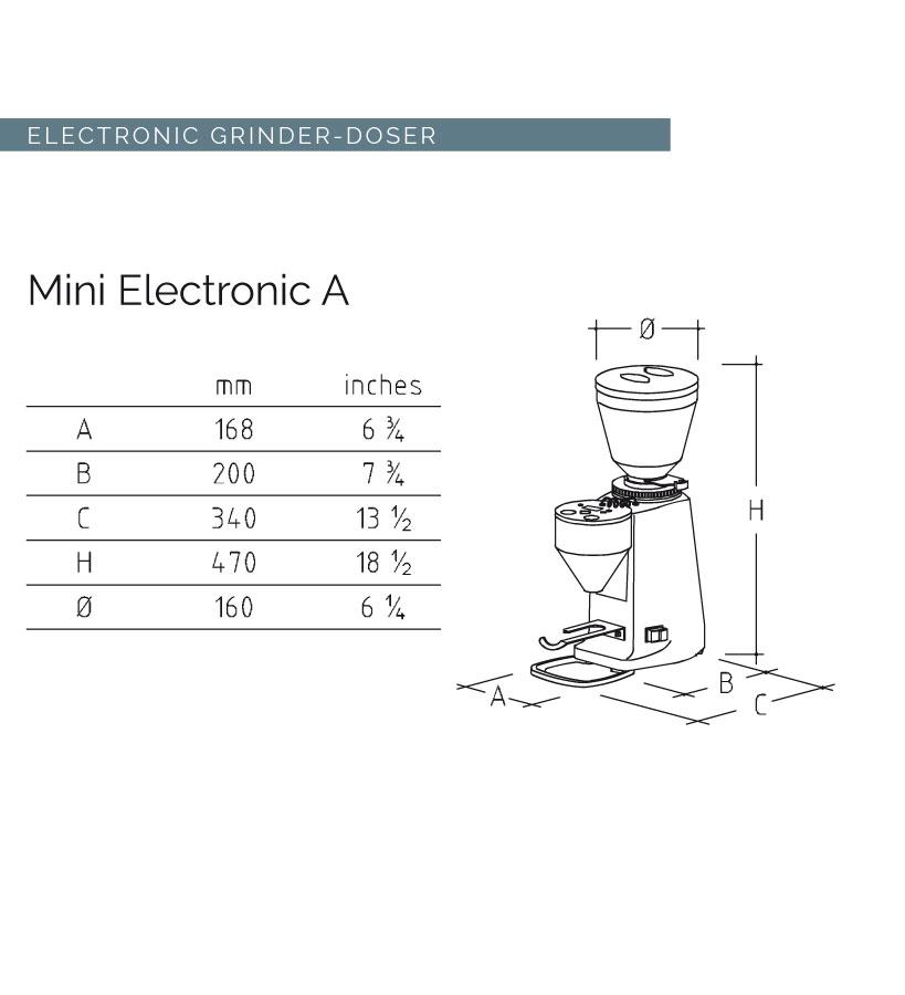 MINI - ELECTRONIC [ミニ エレクトロニック]/ ブラック