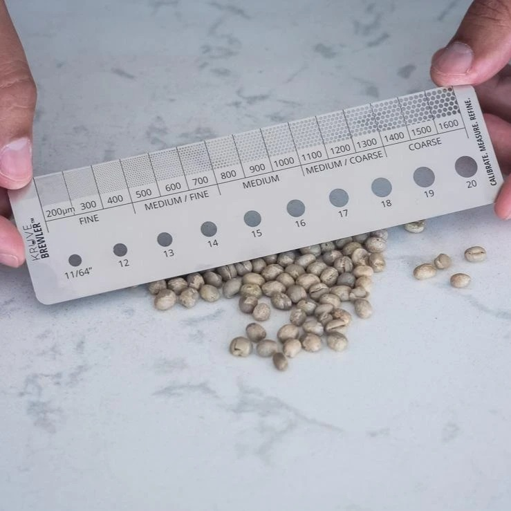 【新商品】SIFTER BREWLER [生豆・挽き豆サイズ測定ツール]