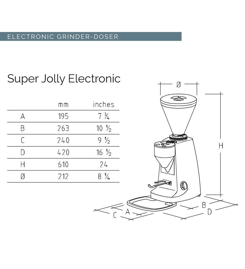 SUPER JOLLY - ELECTRONIC [スーパージョリーエレクトロニック] / ブラック