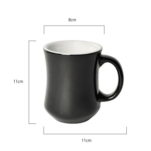 Bond 250ml Hutch Mug (6個)  / BLACK