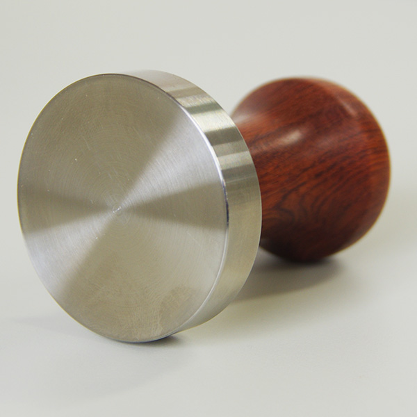 Tamper Handle Tall / Bubinga Unfinished(Esp logo)