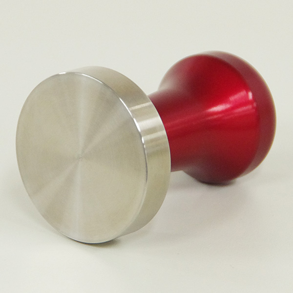 Tamper Handle Tall / PC Red Anodized(Esp logo)