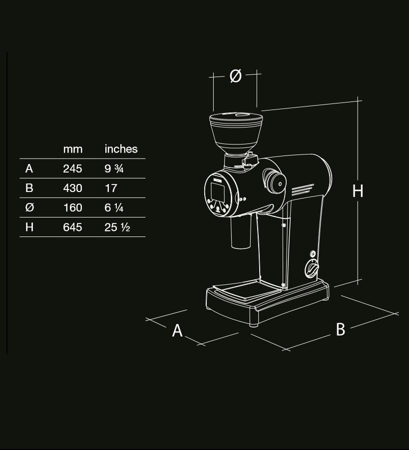 ZM - ELECTRONIC [ゼットエム エレクトロニック] / ブラック